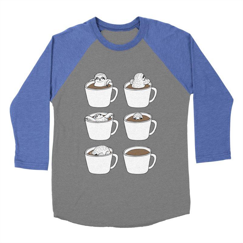 More Coffee Men's Baseball Triblend T-Shirt by huebucket's Artist Shop