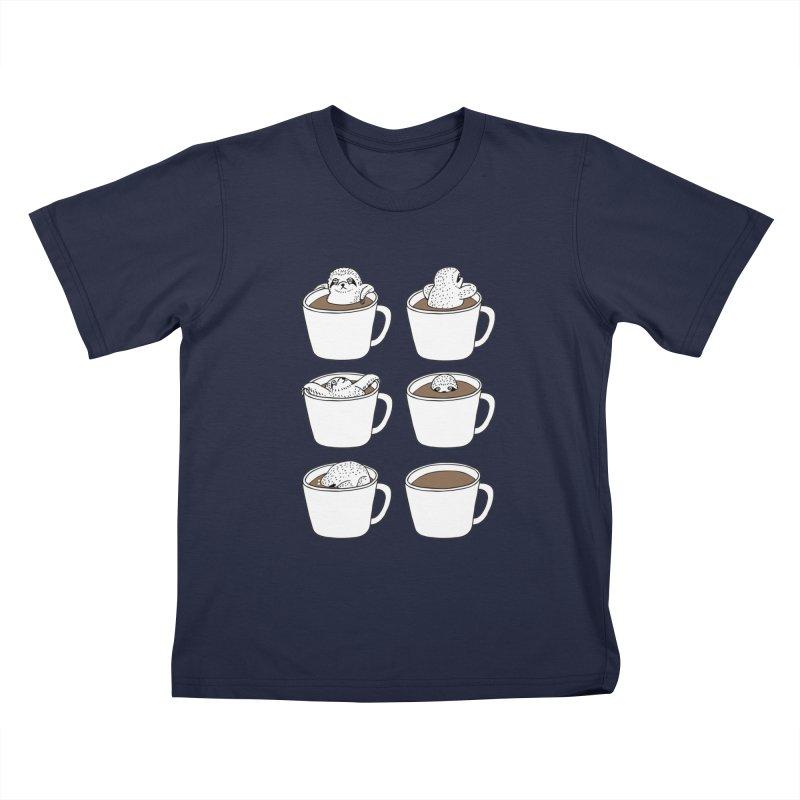 More Coffee Kids T-Shirt by huebucket's Artist Shop