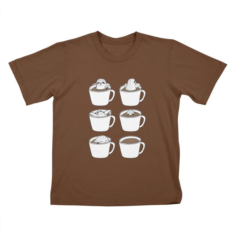 More Coffee Kids T-shirt by huebucket's Artist Shop