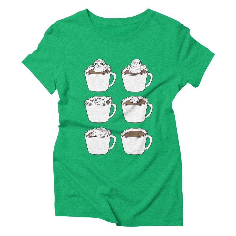 More Coffee Women's Triblend T-Shirt by huebucket's Artist Shop