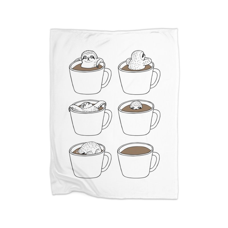 More Coffee Home Blanket by huebucket's Artist Shop