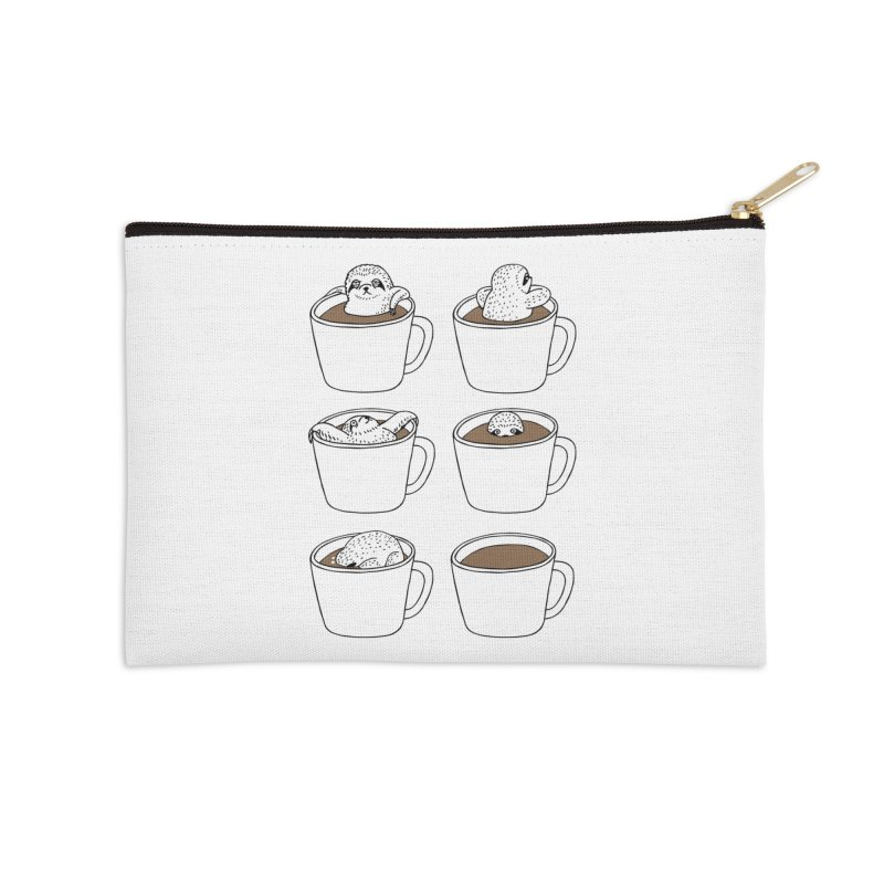 More Coffee Accessories Zip Pouch by huebucket's Artist Shop