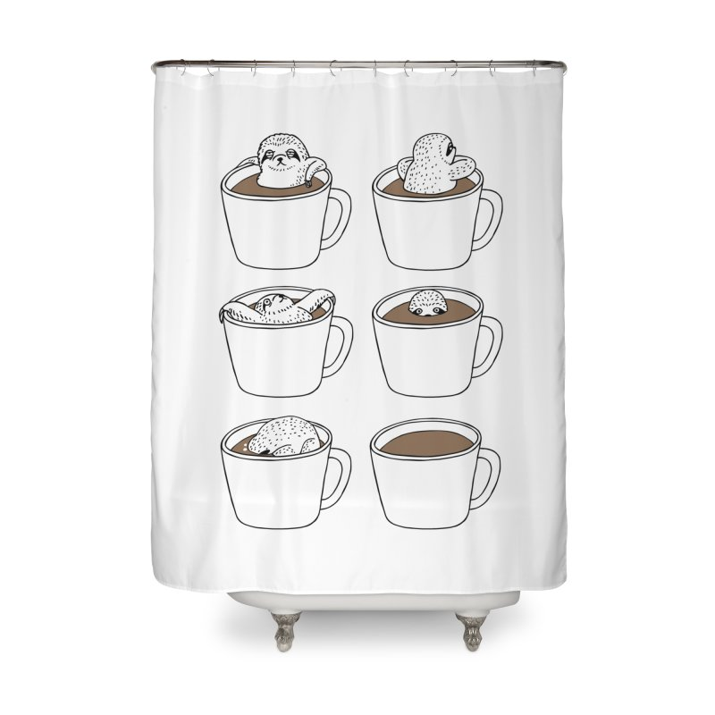 More Coffee Home Shower Curtain by huebucket's Artist Shop