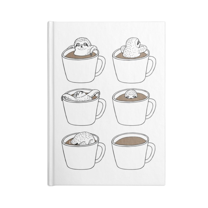 More Coffee Accessories Notebook by huebucket's Artist Shop