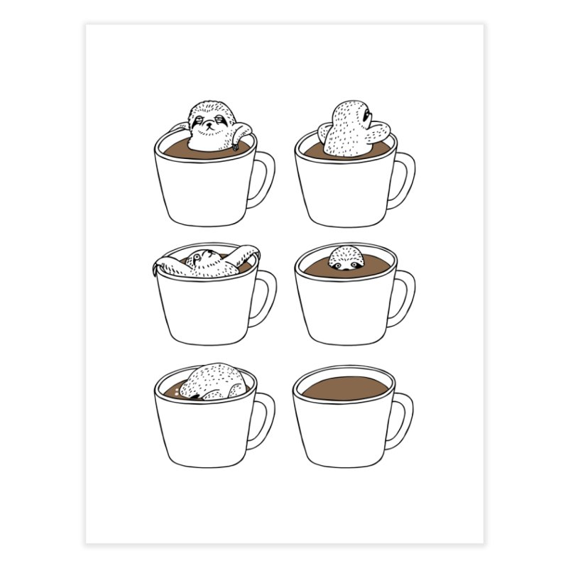 More Coffee Home Fine Art Print by huebucket's Artist Shop