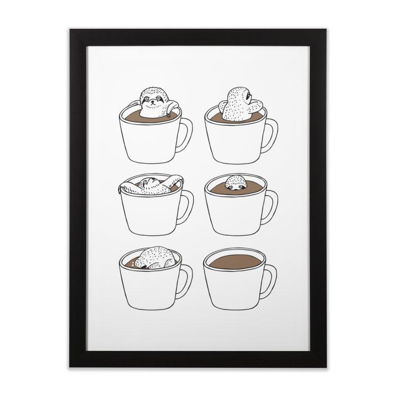 More Coffee Home Framed Fine Art Print by huebucket's Artist Shop