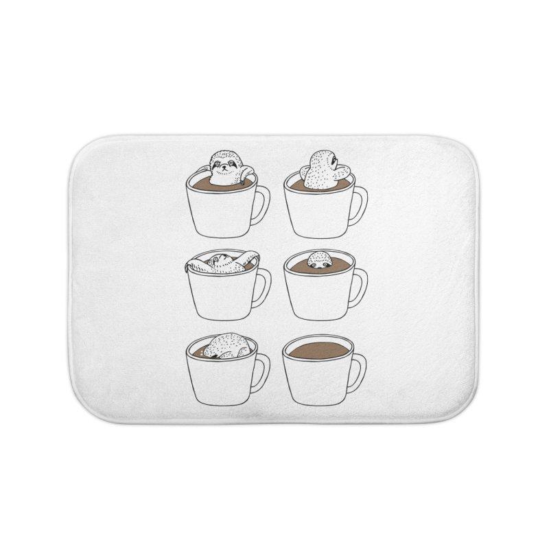 More Coffee Home Bath Mat by huebucket's Artist Shop
