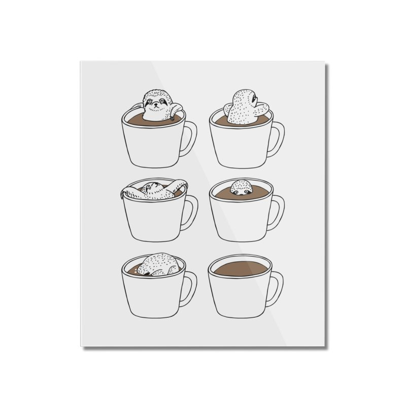 More Coffee Home Mounted Acrylic Print by huebucket's Artist Shop