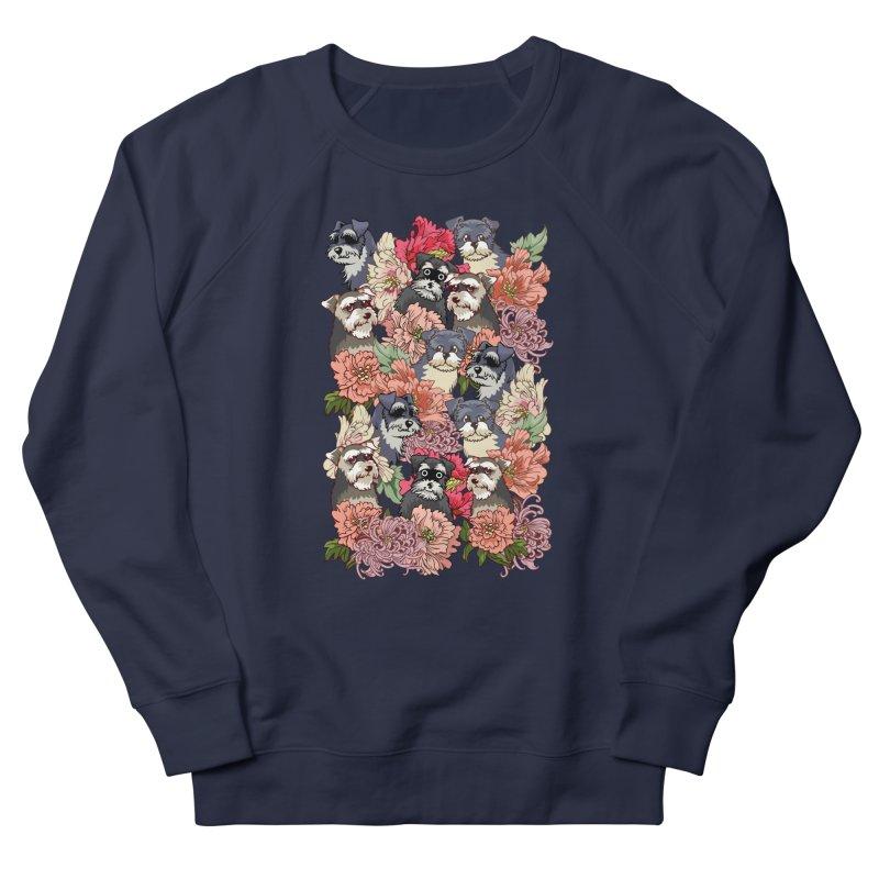 BECAUSE SCHNAUZERS Men's Sweatshirt by huebucket's Artist Shop