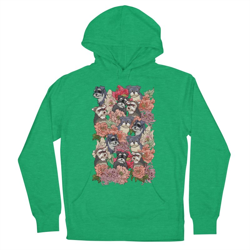 BECAUSE SCHNAUZERS Women's Pullover Hoody by huebucket's Artist Shop