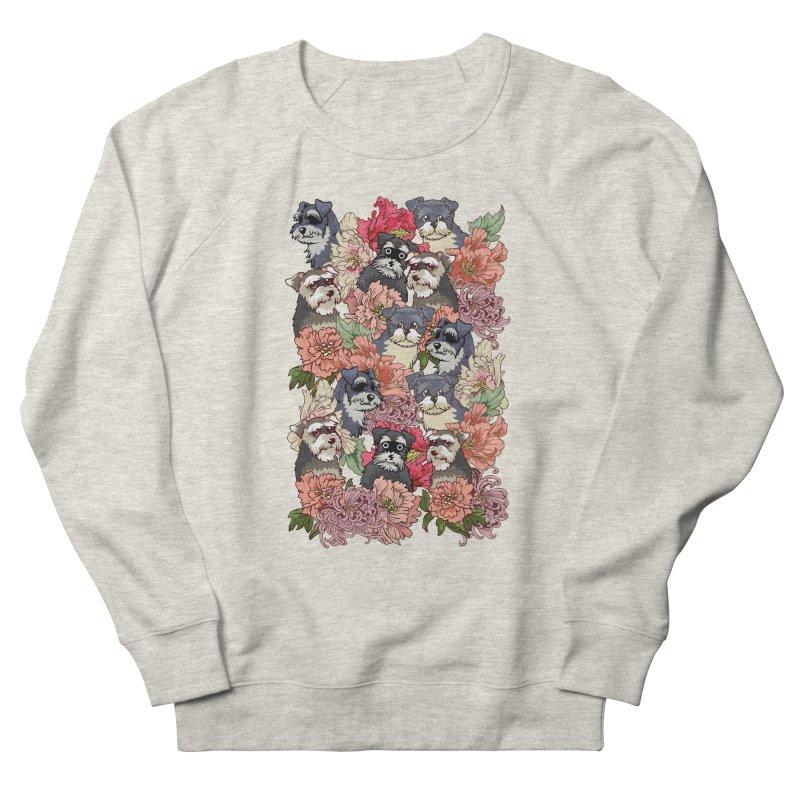 BECAUSE SCHNAUZERS Women's Sweatshirt by huebucket's Artist Shop