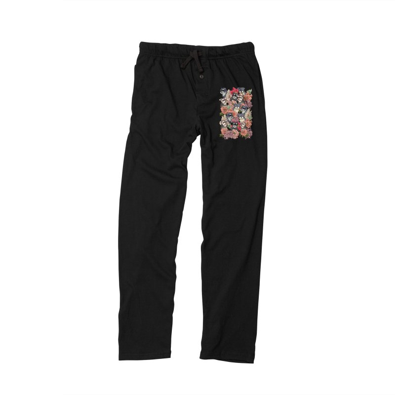 BECAUSE SCHNAUZERS Men's Lounge Pants by huebucket's Artist Shop