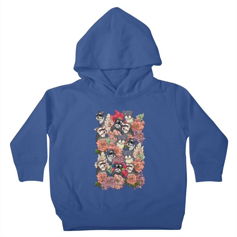 BECAUSE SCHNAUZERS Kids Toddler Pullover Hoody by huebucket's Artist Shop
