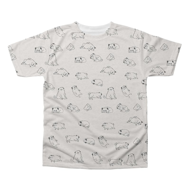 MORE SLEEP Men's Triblend All Over Print by huebucket's Artist Shop