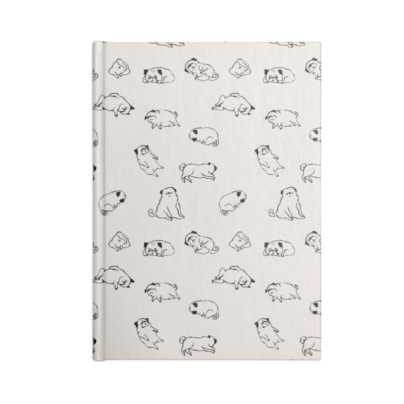 MORE SLEEP Accessories Notebook by huebucket's Artist Shop