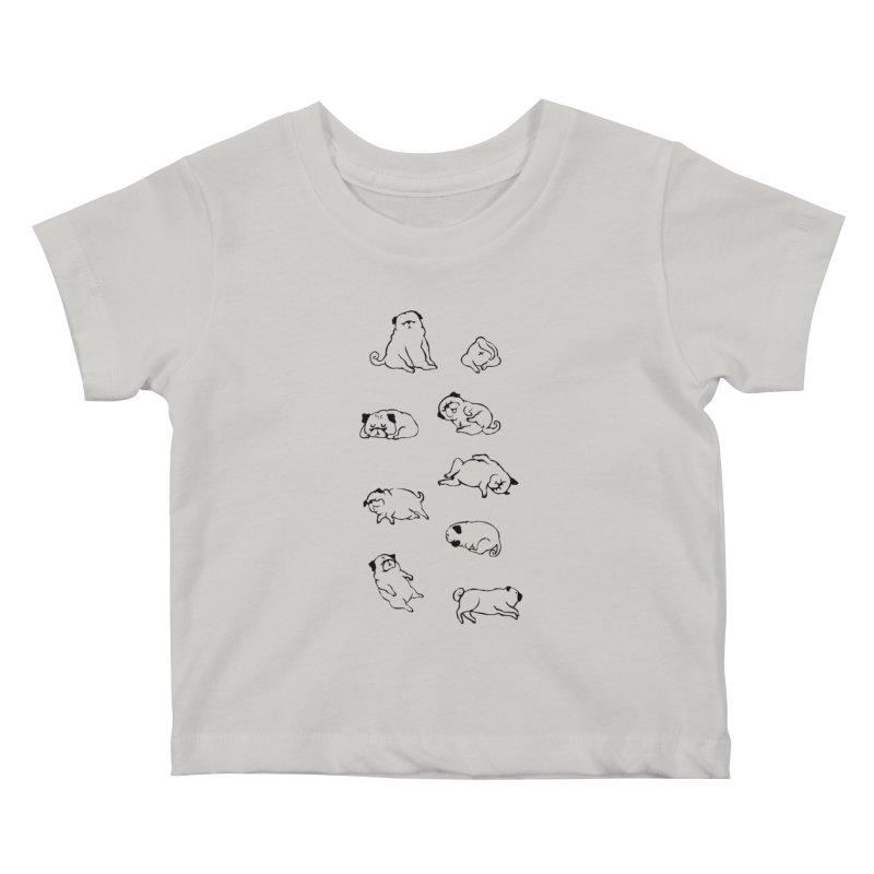 MORE SLEEP Kids Baby T-Shirt by huebucket's Artist Shop