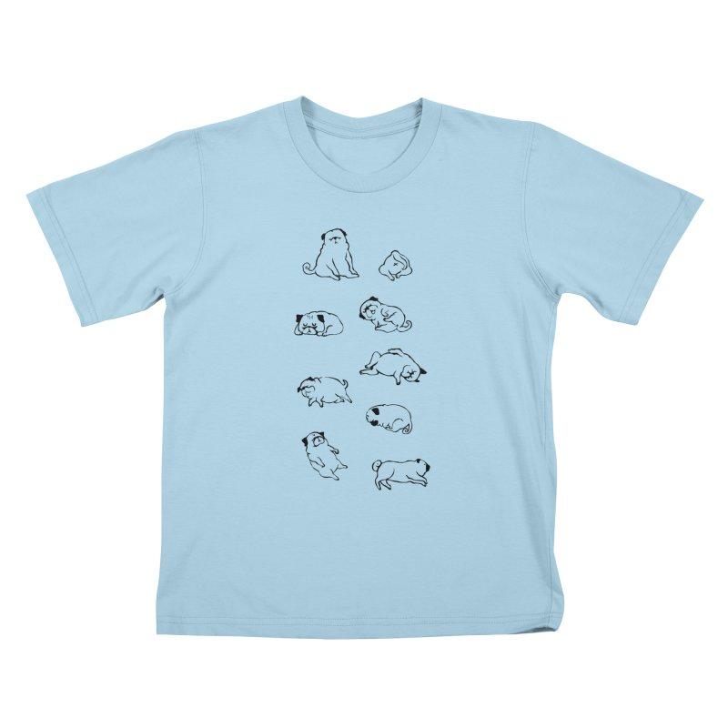 MORE SLEEP Kids T-Shirt by huebucket's Artist Shop
