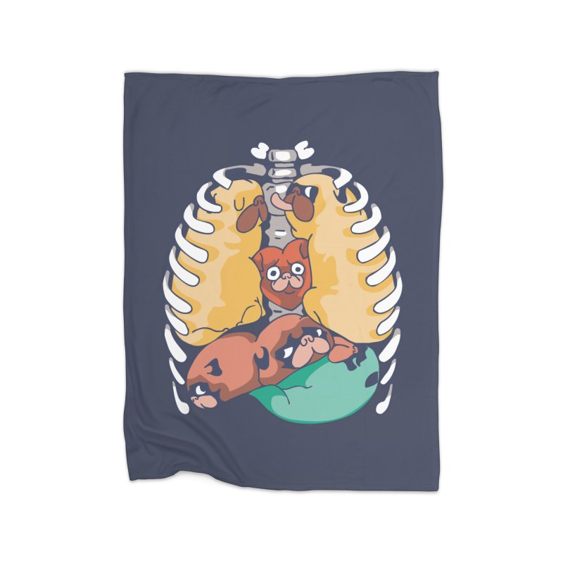 ANATOPUG Home Blanket by huebucket's Artist Shop