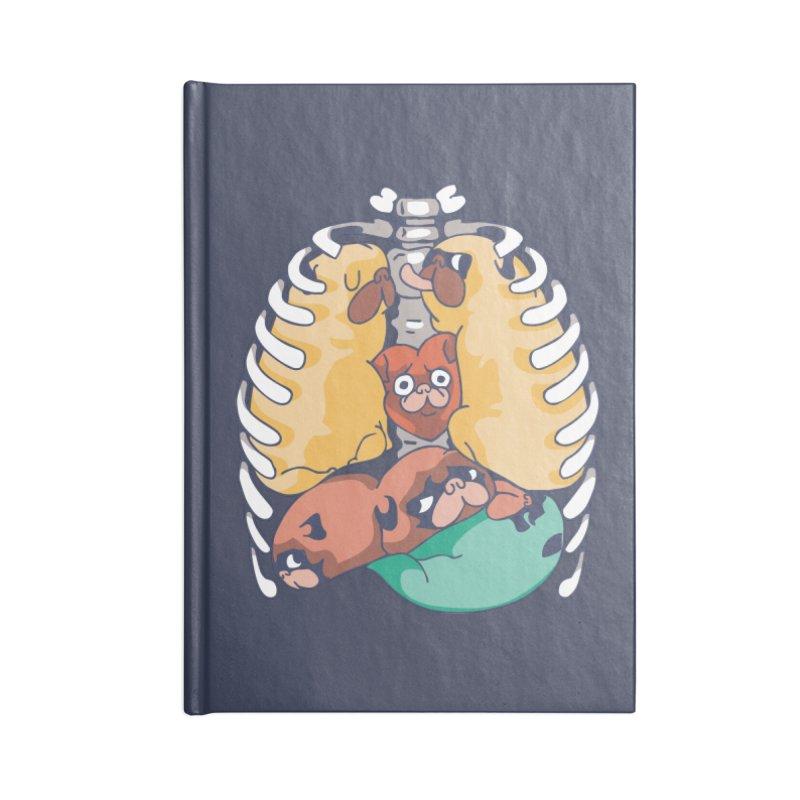 ANATOPUG Accessories Notebook by huebucket's Artist Shop