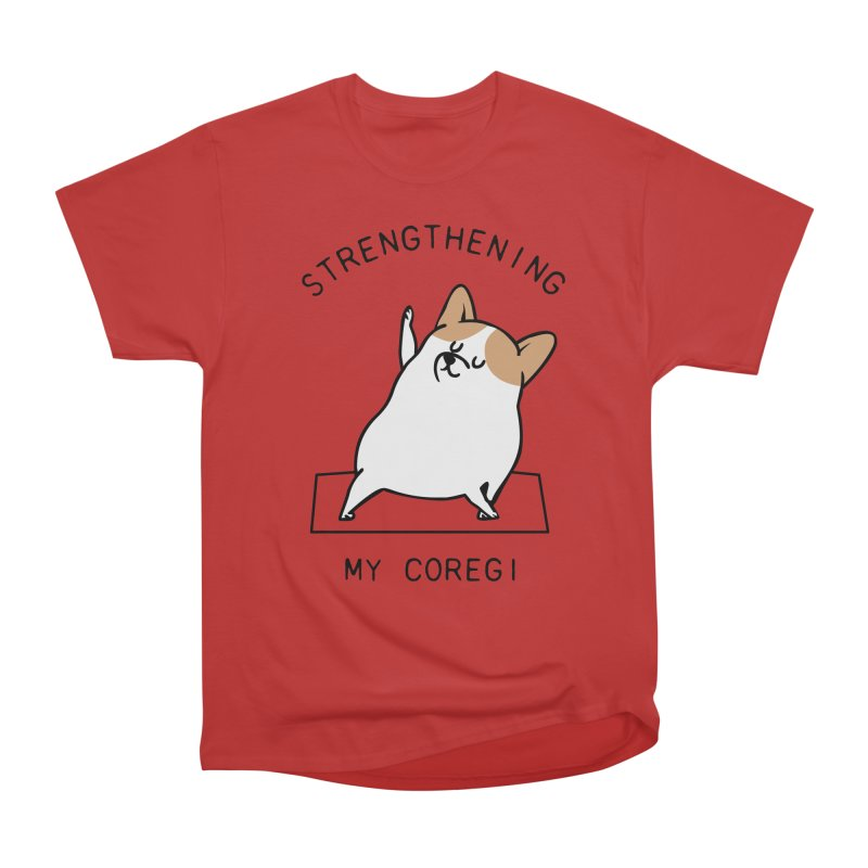 Strengthening My Coregi Men's Classic T-Shirt by huebucket's Artist Shop