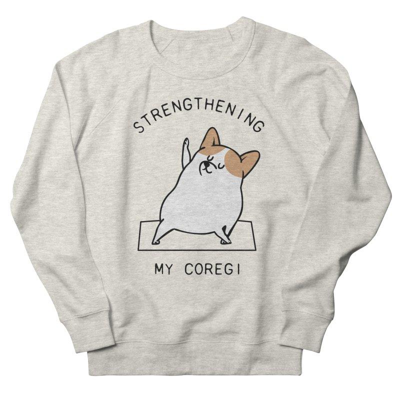 Strengthening My Coregi Men's Sweatshirt by huebucket's Artist Shop