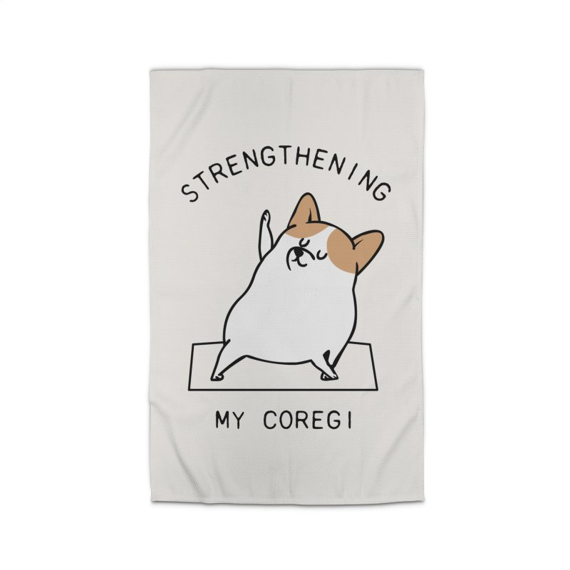 Strengthening My Coregi Home Rug by huebucket's Artist Shop