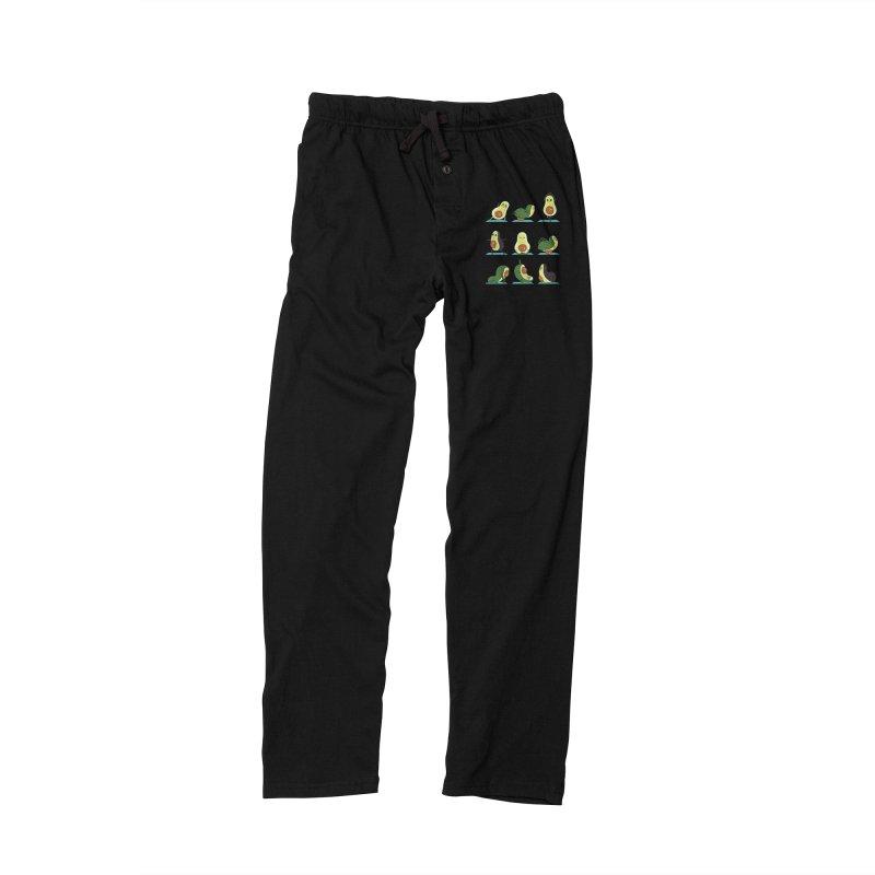 Avocado Yoga Men's Lounge Pants by huebucket's Artist Shop