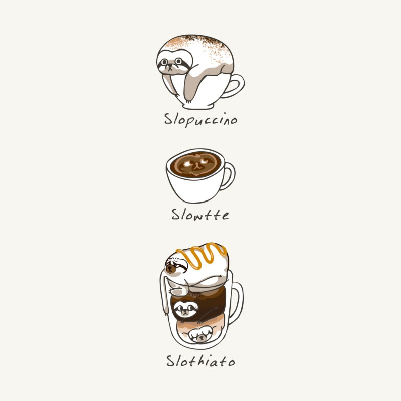 Slow life coffee by huebucket's Artist Shop