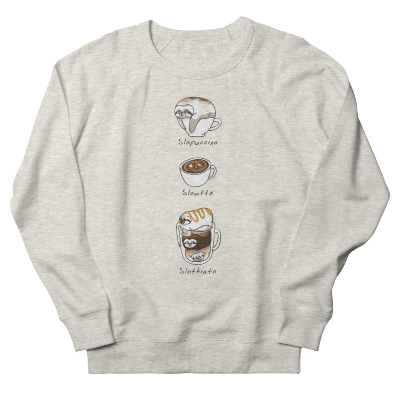 Slow life coffee Men's Sweatshirt by huebucket's Artist Shop