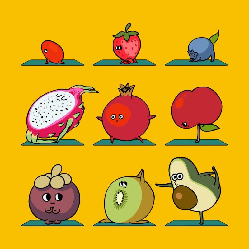 Super Fruits Yoga by huebucket's Artist Shop