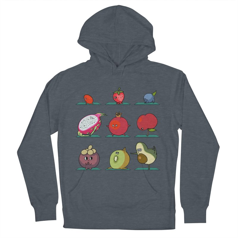 Super Fruits Yoga Men's Pullover Hoody by huebucket's Artist Shop