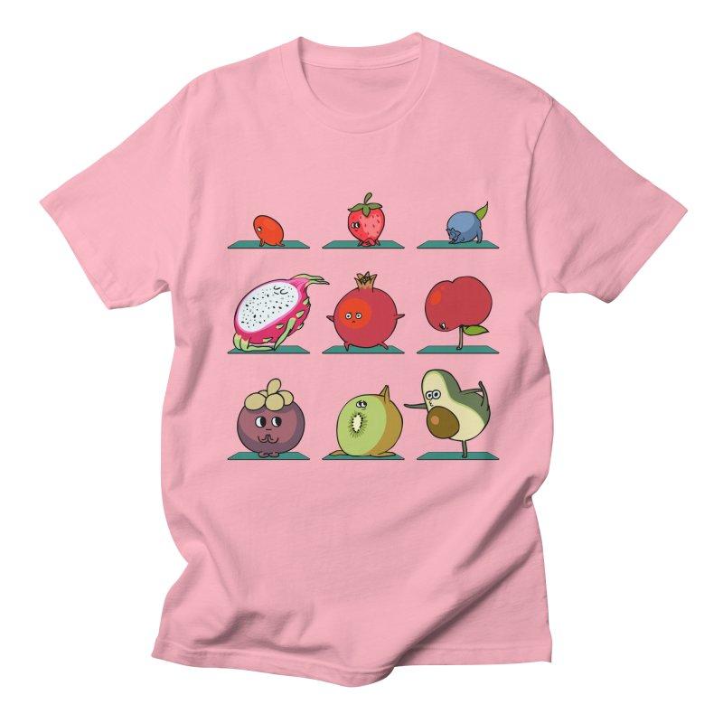 Super Fruits Yoga Men's T-Shirt by huebucket's Artist Shop