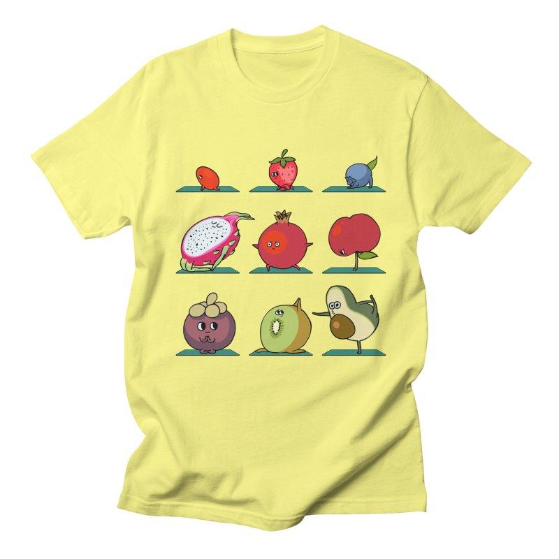 Super Fruits Yoga Women's Unisex T-Shirt by huebucket's Artist Shop