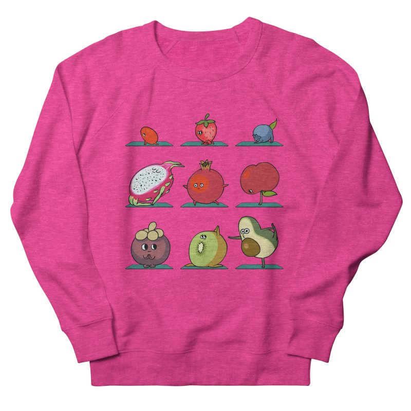 Super Fruits Yoga Men's Sweatshirt by huebucket's Artist Shop