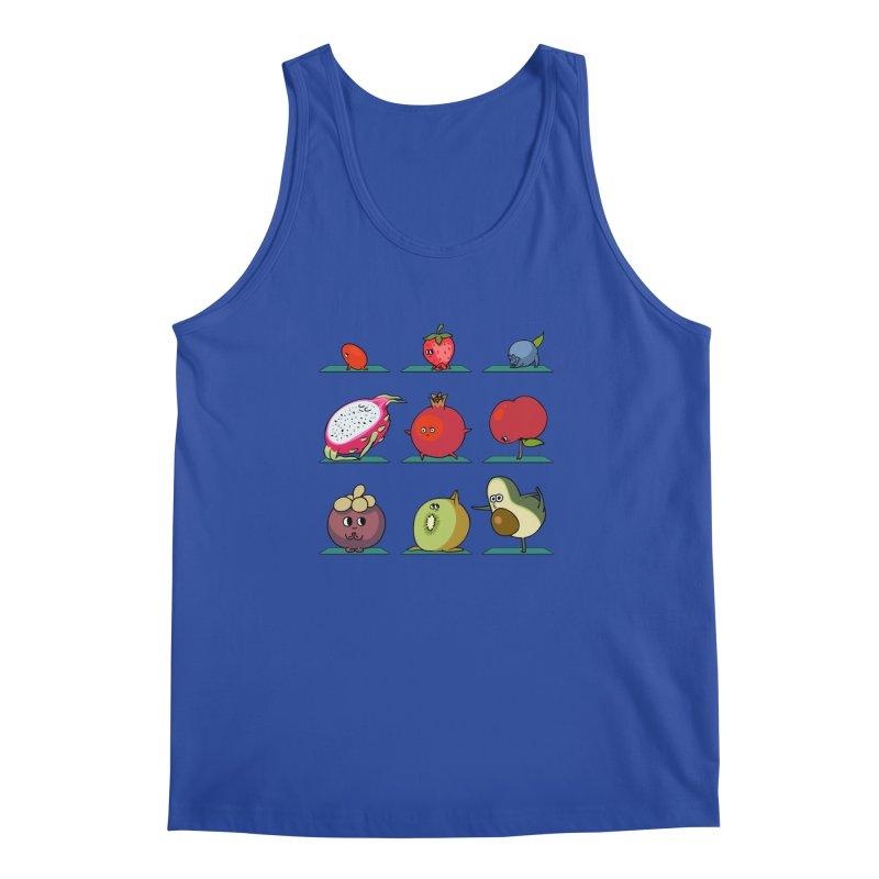 Super Fruits Yoga Men's Tank by huebucket's Artist Shop