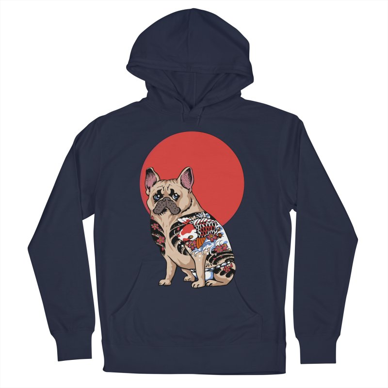 French Bulldog Yakuza Women's Pullover Hoody by huebucket's Artist Shop