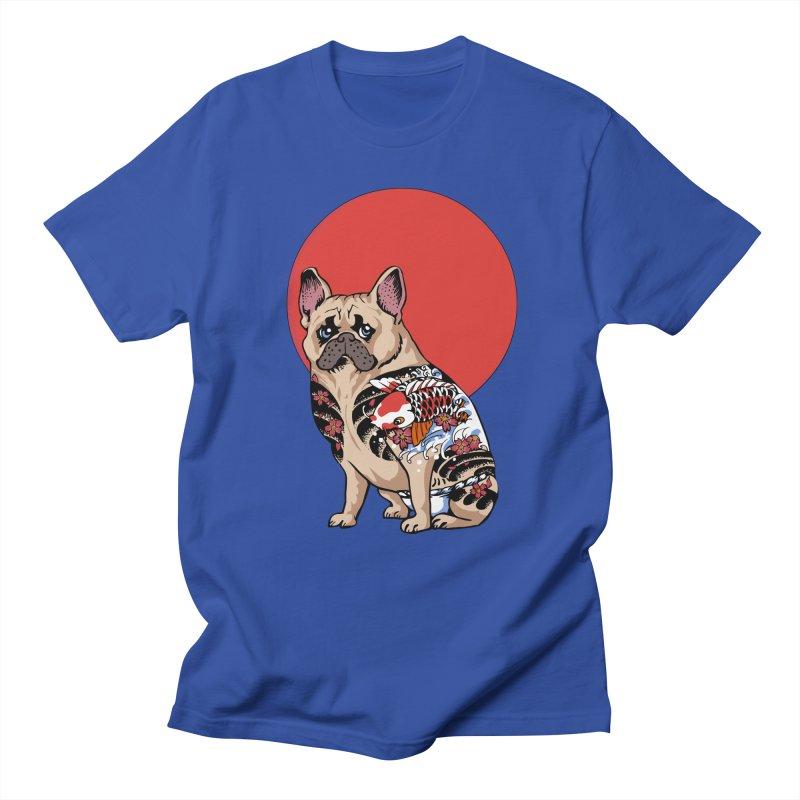 French Bulldog Yakuza Women's Unisex T-Shirt by huebucket's Artist Shop
