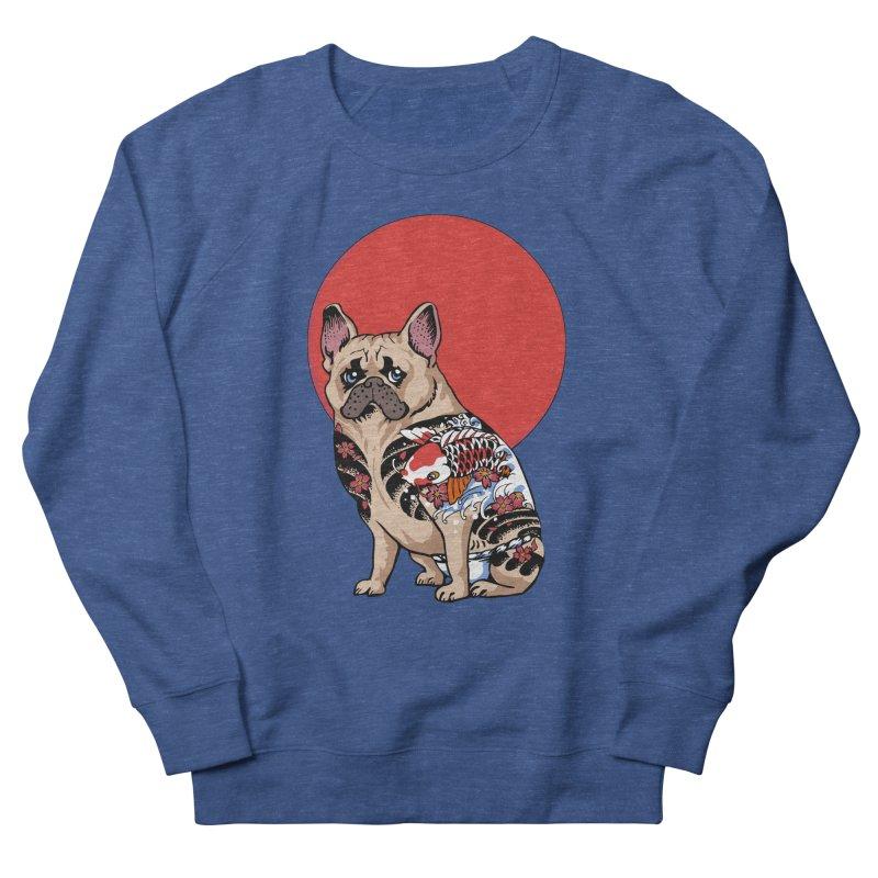 French Bulldog Yakuza Women's Sweatshirt by huebucket's Artist Shop