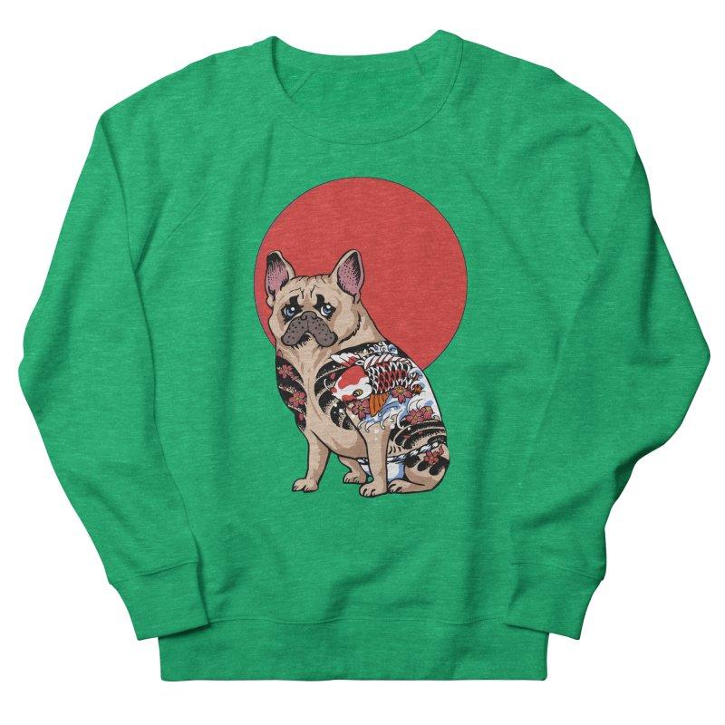 French Bulldog Yakuza Men's Sweatshirt by huebucket's Artist Shop