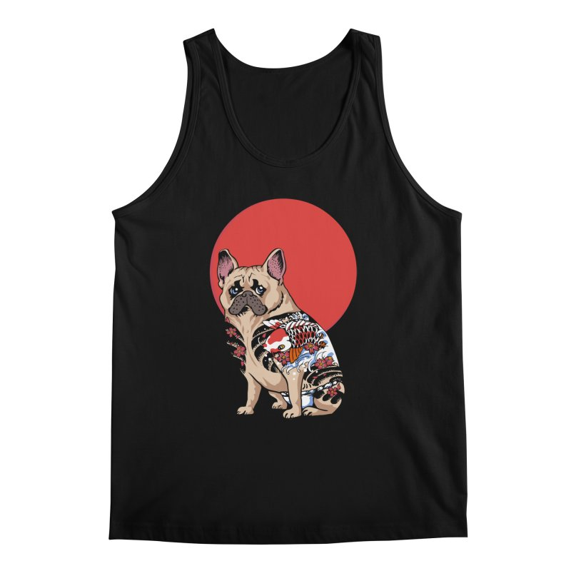 French Bulldog Yakuza Men's Tank by huebucket's Artist Shop