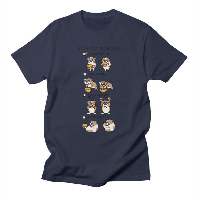 Buns Day Workout Women's Unisex T-Shirt by huebucket's Artist Shop