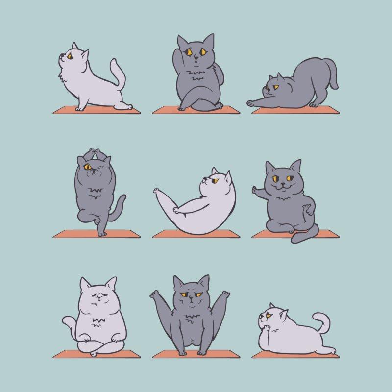 British Shorthair Cat Yoga by huebucket's Artist Shop