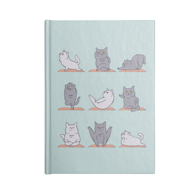 British Shorthair Cat Yoga Accessories Notebook by huebucket's Artist Shop