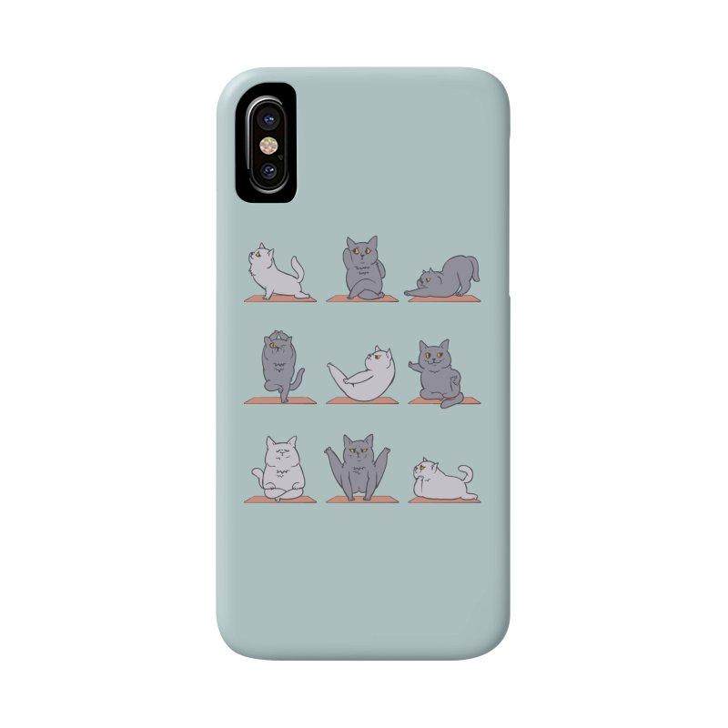 British Shorthair Cat Yoga Accessories Phone Case by huebucket's Artist Shop