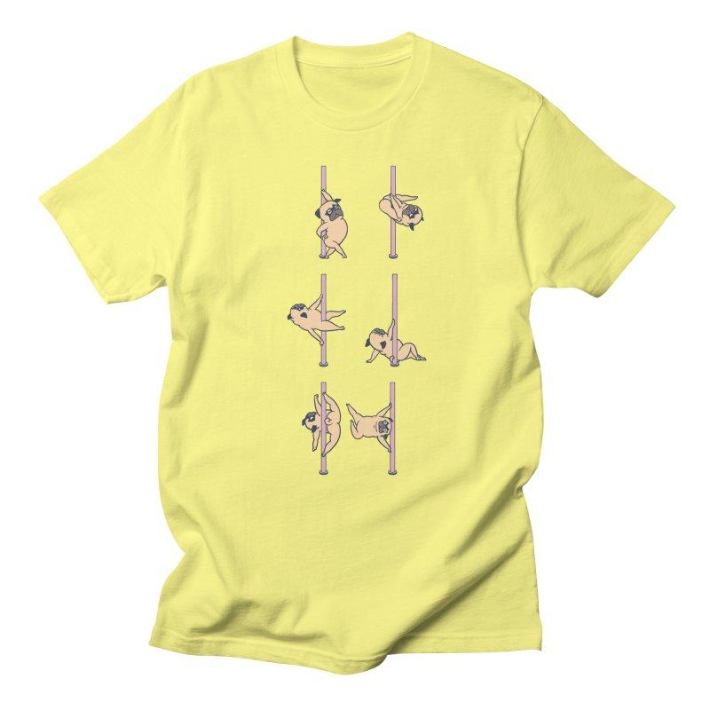 Pugs Pole Dancing Club Men's T-Shirt by huebucket's Artist Shop
