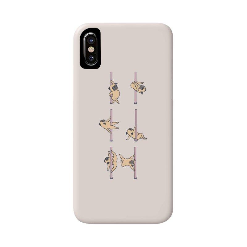 Pugs Pole Dancing Club Accessories Phone Case by huebucket's Artist Shop