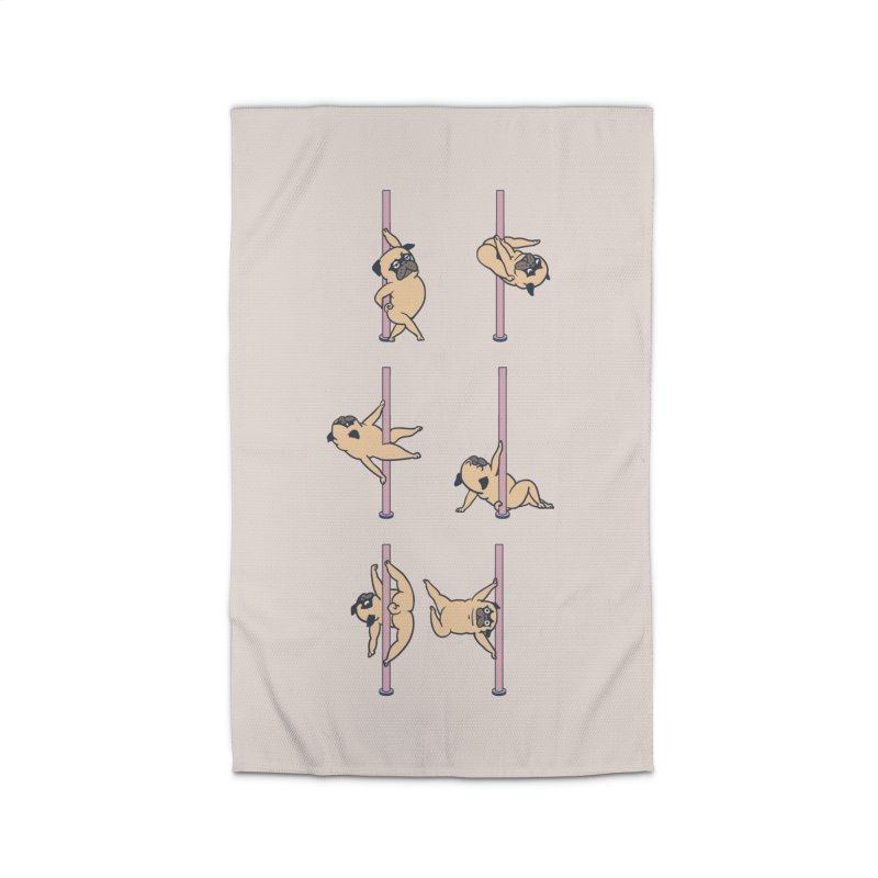 Pugs Pole Dancing Club Home Rug by huebucket's Artist Shop