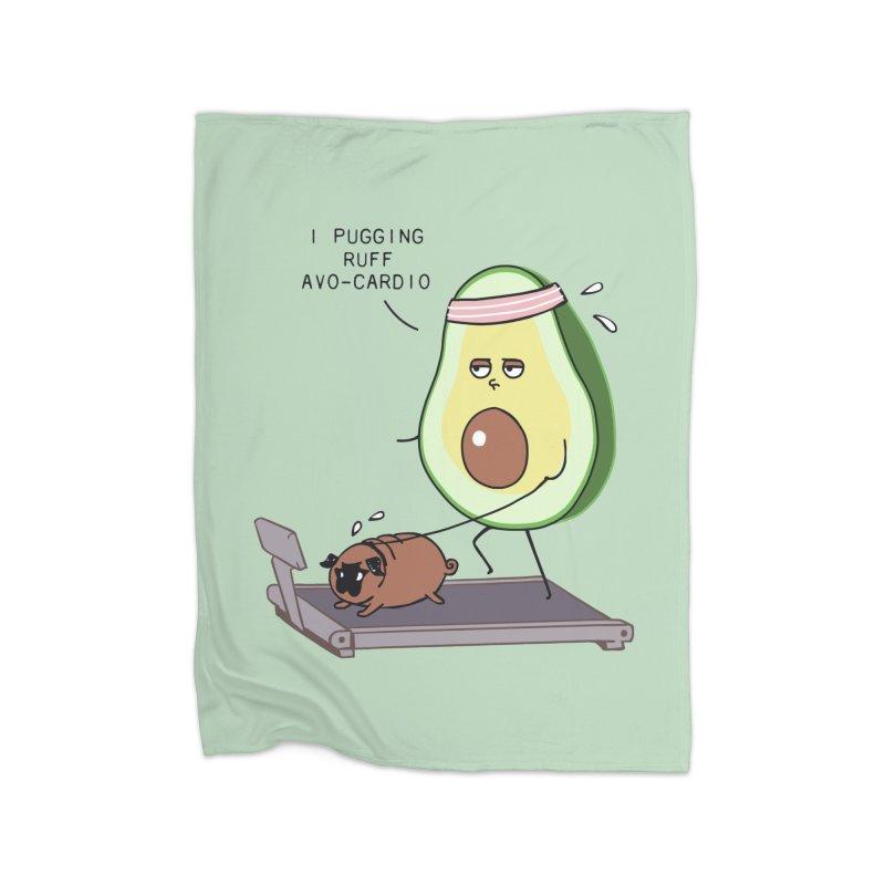 I PUGGING RUFF AVOCARDIO Home Blanket by huebucket's Artist Shop