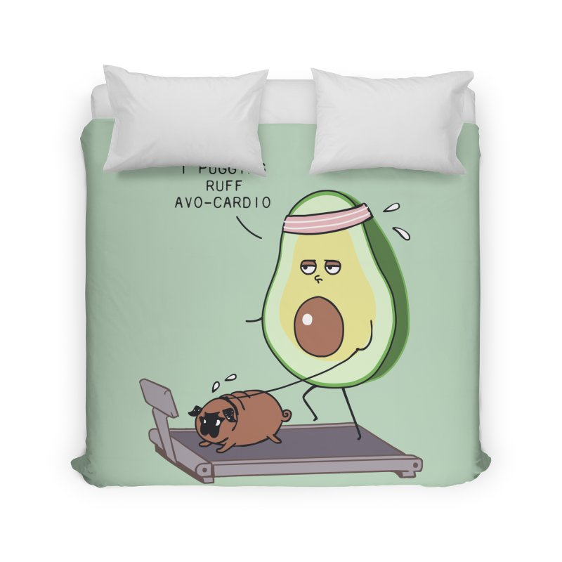 I PUGGING RUFF AVOCARDIO Home Duvet by huebucket's Artist Shop