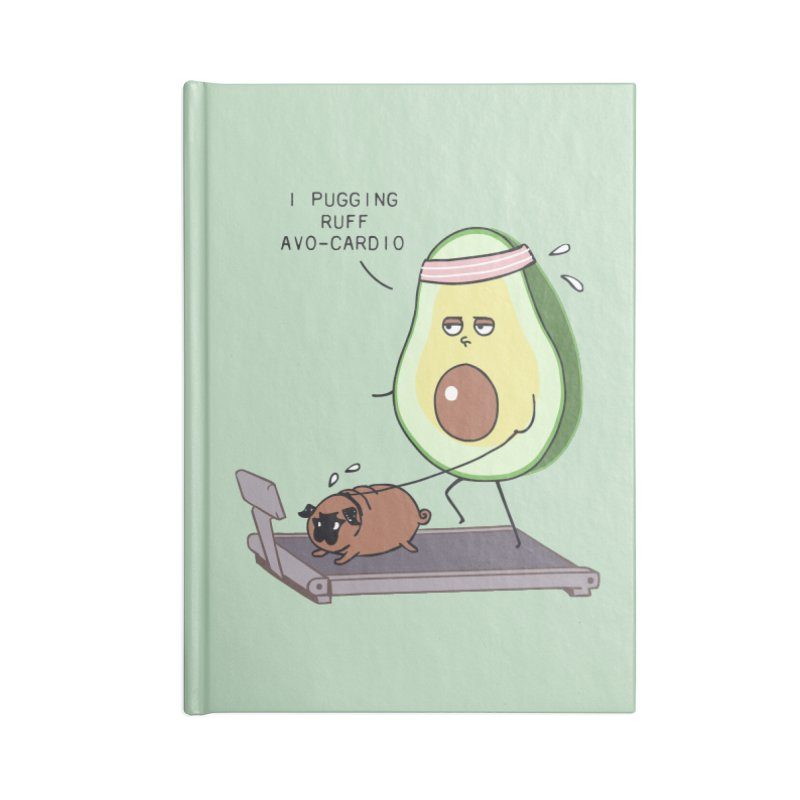 I PUGGING RUFF AVOCARDIO Accessories Notebook by huebucket's Artist Shop